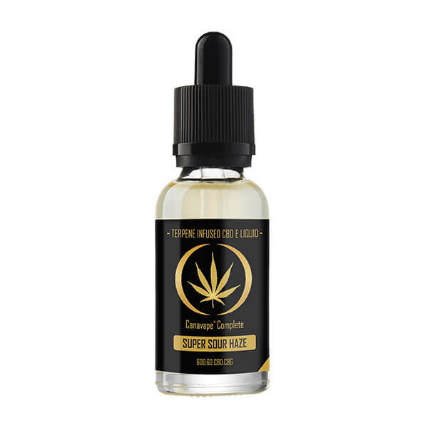Canavape Super Sour Haze CBD E-Liquid
