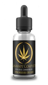 Canavape Complete Terpene Infused 30ml (600mg CBD 60mg CBG)