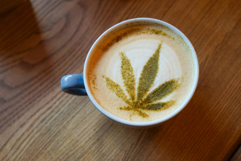 CBD Infused Coffee Leeds cafe