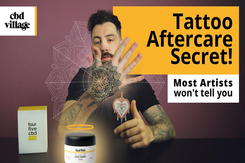 CBD&Tattoos CanCBDHelpTattoosHealBetter