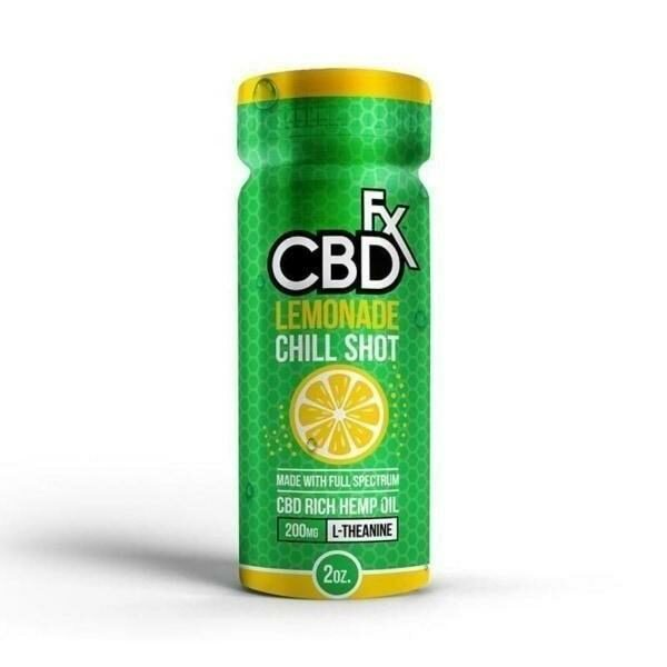 CBDfx Drink - Lemonade CBD Chill Shot 20mg