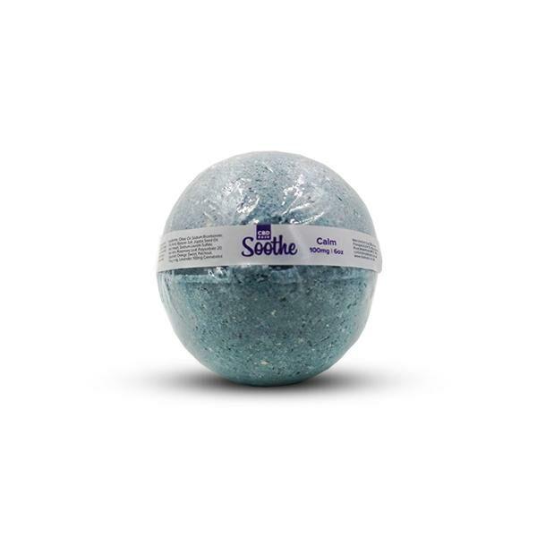 CBD Eaze Full Spectrum Bath Bombs 100mg CBD Calm