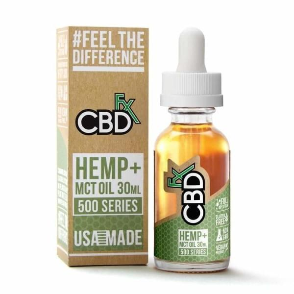 CBDfx 500mg Tincture Oil