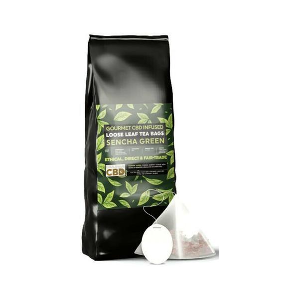 Equilibrium CBD Tea Bag Sencha Green