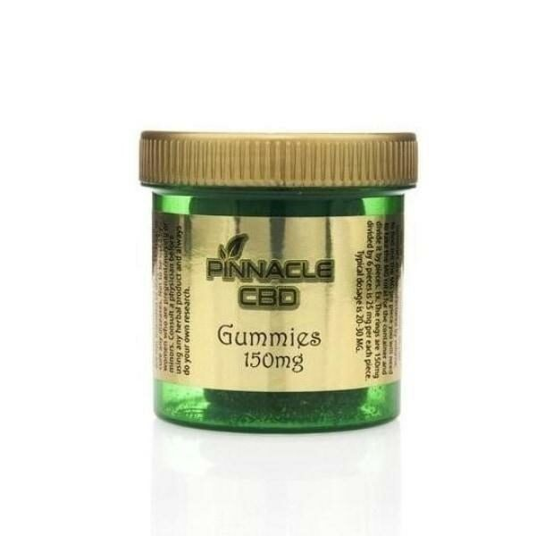 Pinnacle CBD Gummies 150mg - Pack of 6