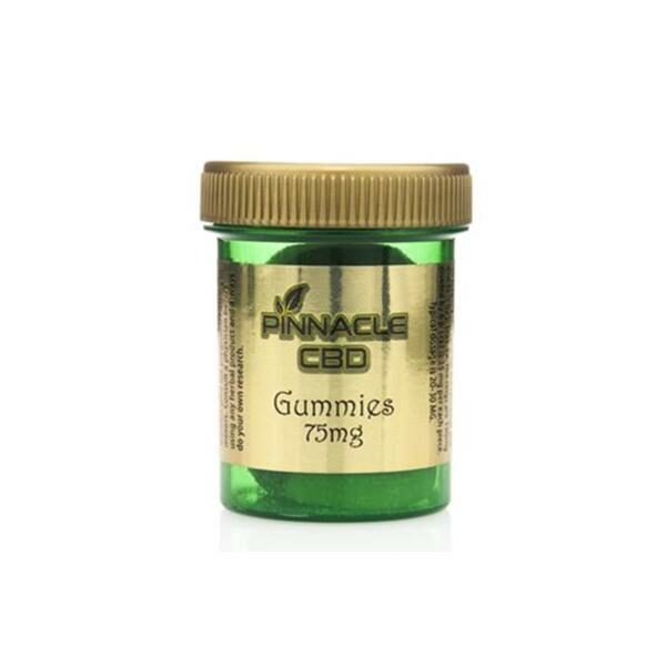 Pinnacle CBD Gummies 75mg pack of 3