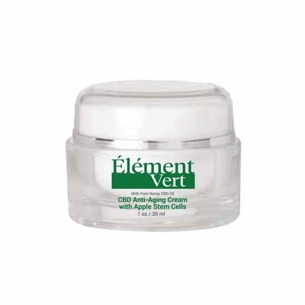 Element Vert CBD Anti-Aging Cream with Apple Stem Cells 30ml