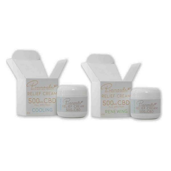 Pinnacle Hemp Full Spectrum Relief Cream 500mg CBD