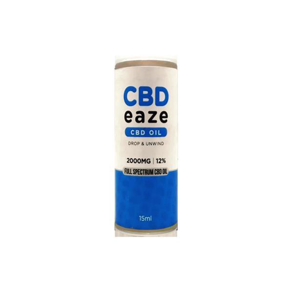 CBD Eaze 2000mg Full Spectrum CBD Oil 15ml