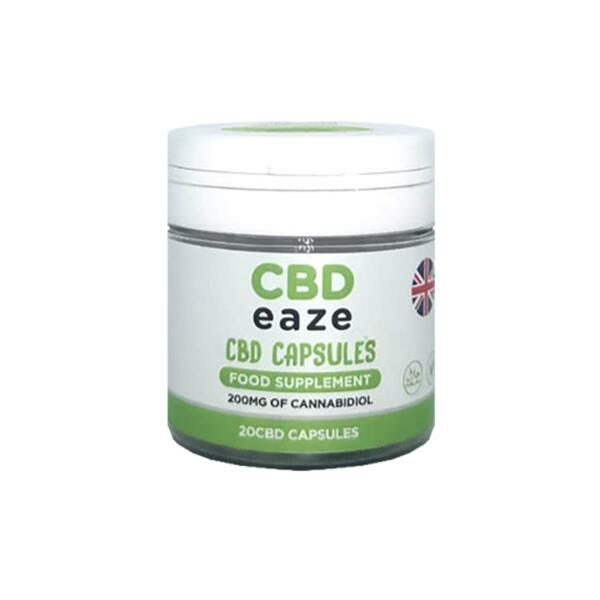 CBD Eaze Full Spectrum CBD Capsules - 200mg