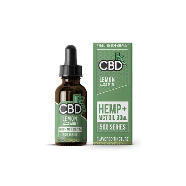 CBDfx Lemon Lime Mint CBD Tincture Oil