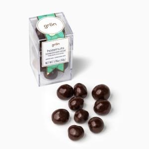 Grön Dark Chocolate Covered Hazelnuts