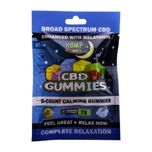 Hemp Bombs CBD Sleep Gummies