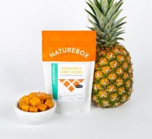 Naturebox Pineapple CBD Chews