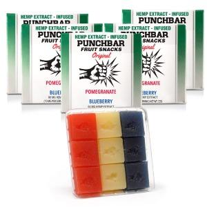Punch Fruit Snacks Gummies Edibles