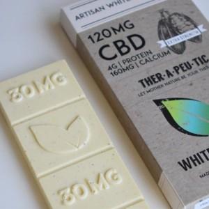 Therapeutic Treats White Chocolate CBD Bar