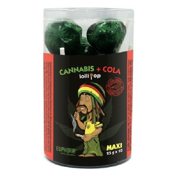 Cannabis + Cola Lollipops Euphoria