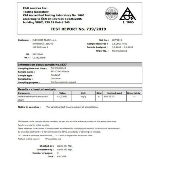 Test Report Euphoria Trade