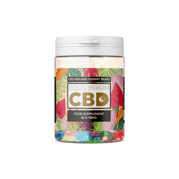 CBD Equilibrium Food Supplement | 30 x10 mg