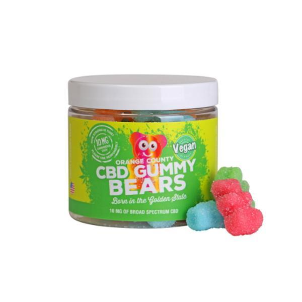 CBD Gummy Bears - Vegan | Orange County
