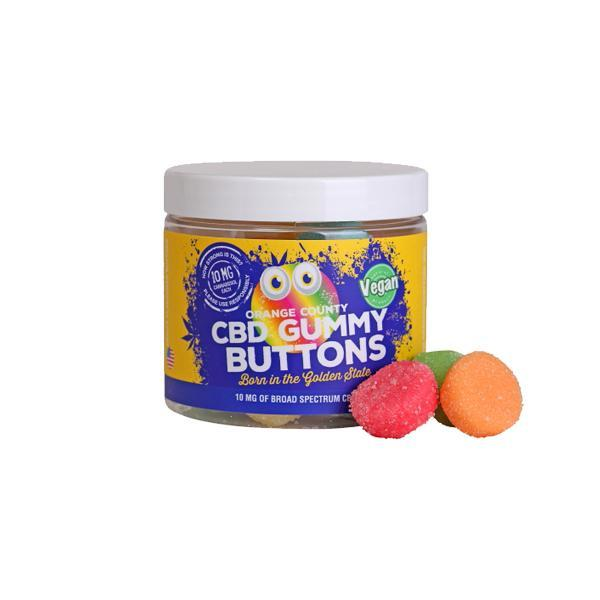 CBD Gummy Buttons 10mg of Broad Spectrum CBD
