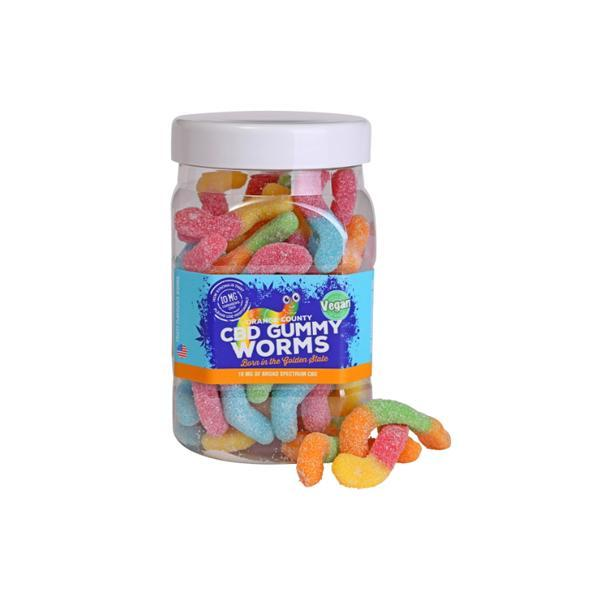 CBDGummyWorms Vegan
