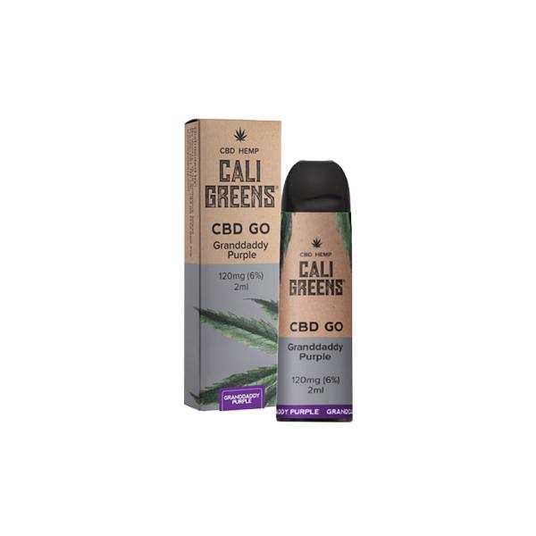 Disposable CBD Vape Cali Greens - Grandaddy Purple