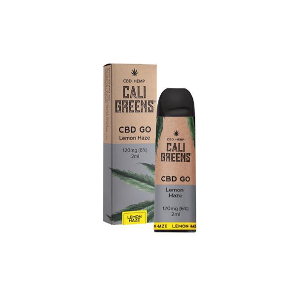 Disposable CBD Vape Cali Greens - Lemon Haze