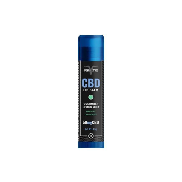 Ignite CBD | Lip Balm - Lemon&Mint | 50mg CBD