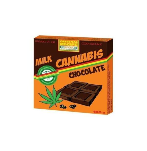 Milk Cannabis Chocolate