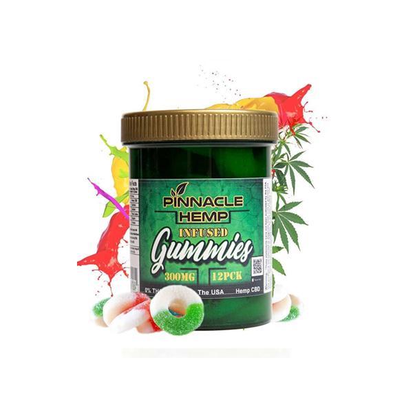 Pinacle Hemp Infused Gummies 300mg