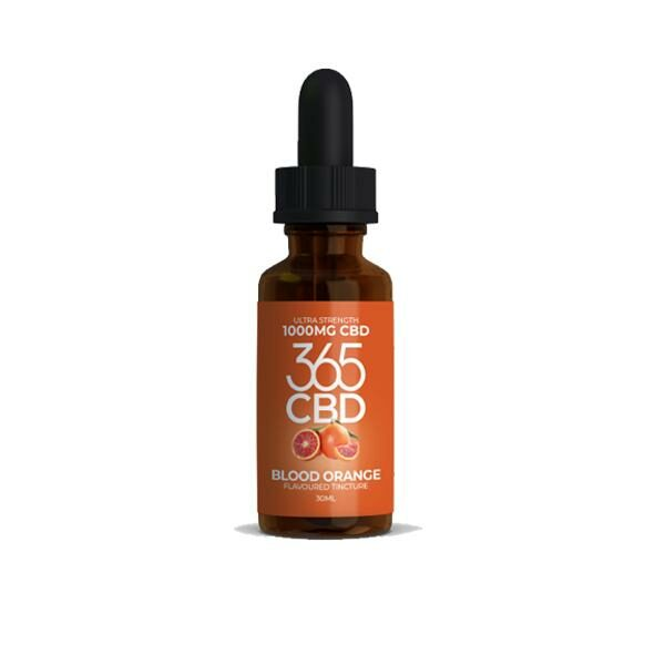 CBD tincture Blood Orange
