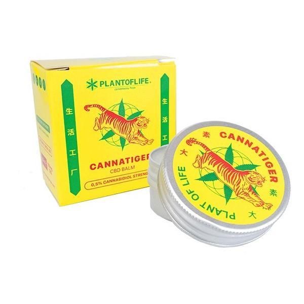 Cannatiger CBD Balm 0.5% Cannabidoil
