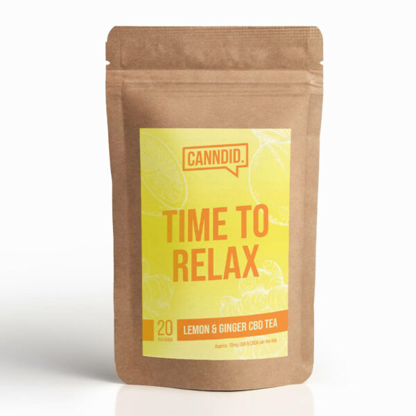 Canndid Tea Lemon Ginger