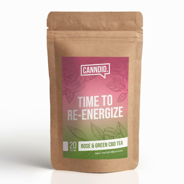 Canndid Tea Rose Green Tea