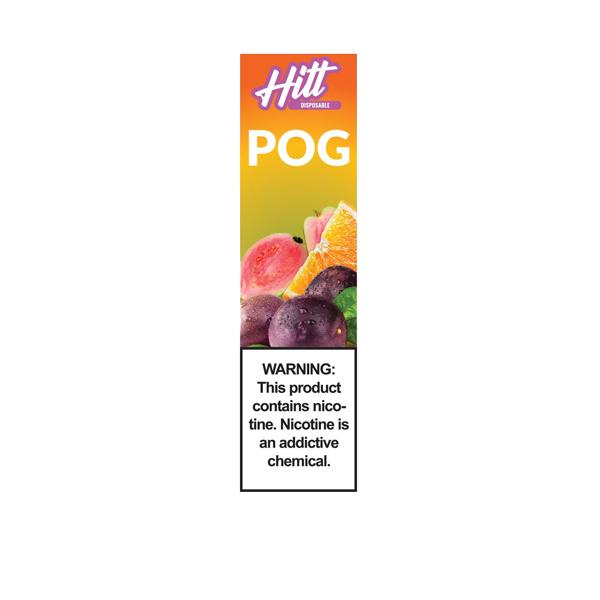 20mg Hitt Go Disposable Vape Pod