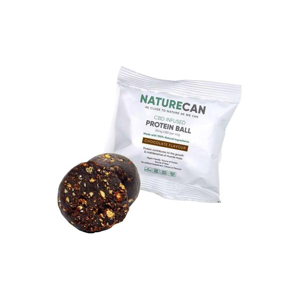 Naturecan 25mg CBD Protein Ball 40g