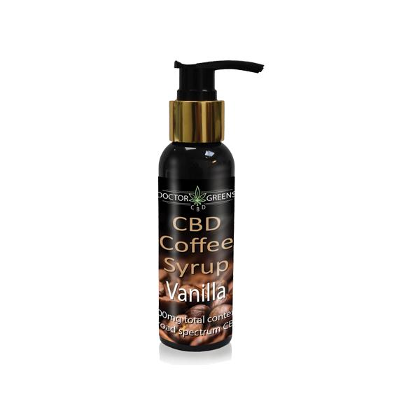 Doctor Green's 500mg CBD Coffee Syrup CBD 100ml Vanilla