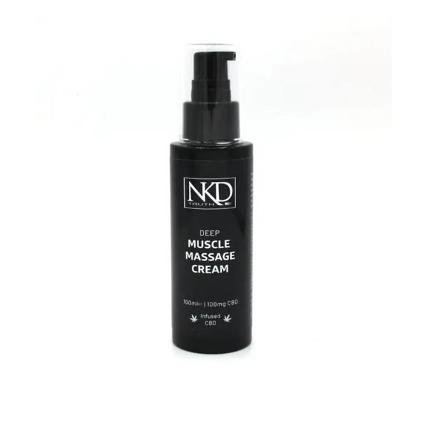 NKD 100mg CBD Deep Muscle Massage Cream 100ml