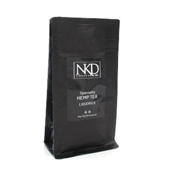NKD 10mg CBD Wellness Tea 40g Liquorice