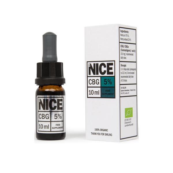 Mr Nice 500mg CBG Oil 10ml