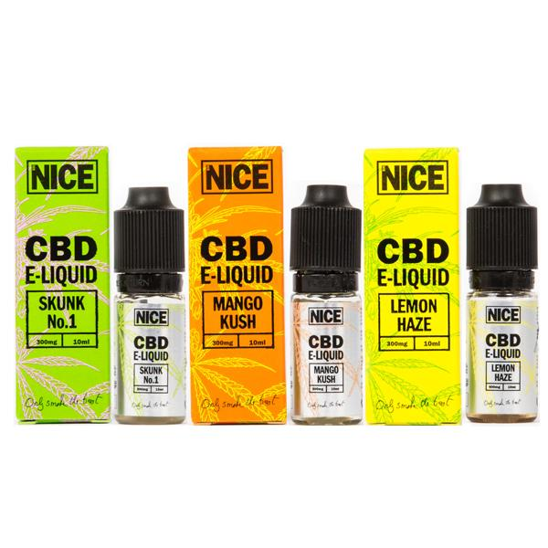 Mr Nice 300mg CBD E-Liquid 10ml