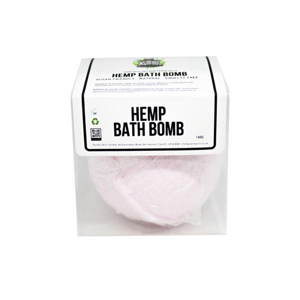 Green Apron Hemp Bath Bomb 140g
