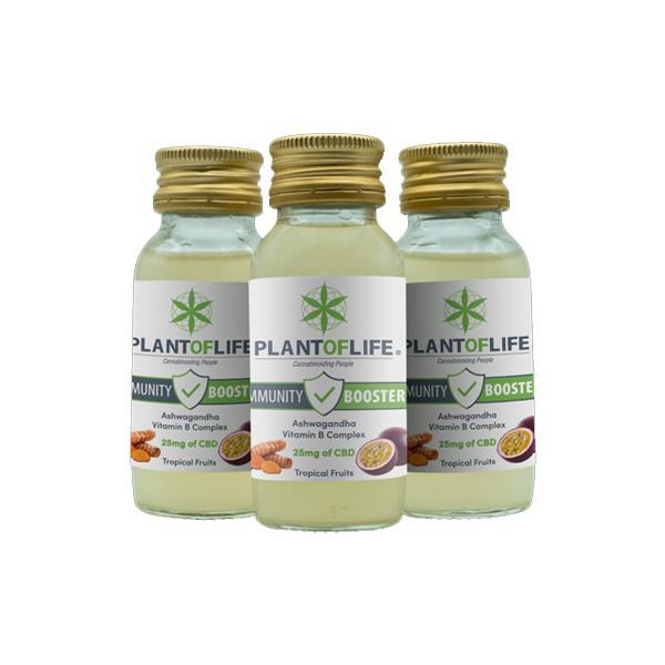 Plant Of Life 25mg CBD Immunity Booster 60ml x 24