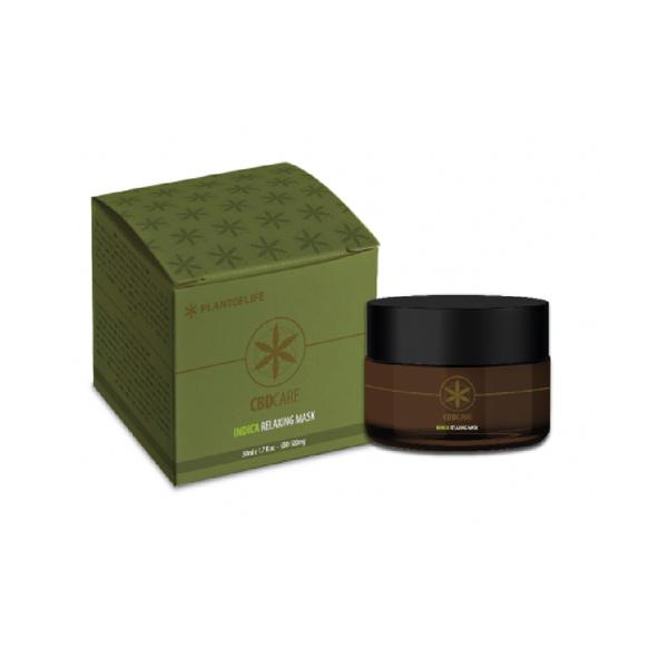 Plant of Life 500mg Indica Relaxing Face Mask 50ml