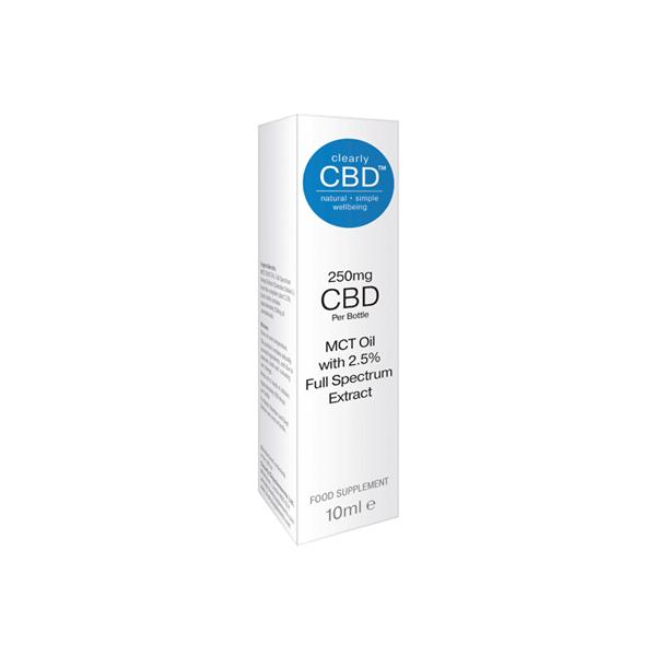Clearly CBD 250mg Oil
