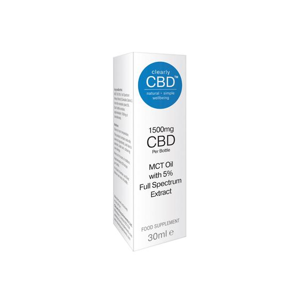 Clearly CBD 1500mg Oil