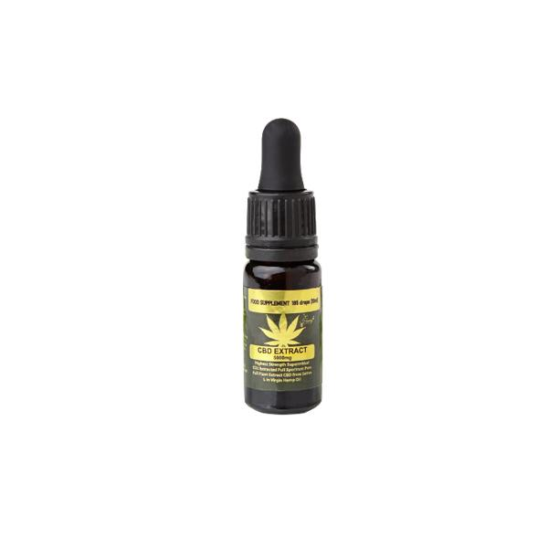 5000mg CBD Tincture Oil UK by Honey Heaven