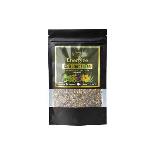 Honey Heaven 300mg CBD Loose Leaf Herbal Tea 50g Energise