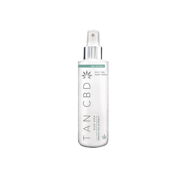 Tan CBD 75mg CBD Infused Self Tan Pump Spray 200ml